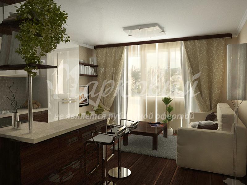 Дизайн студия спальня